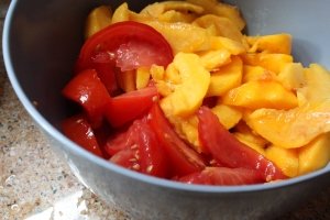 Tomatoes, peaches...what's missing?