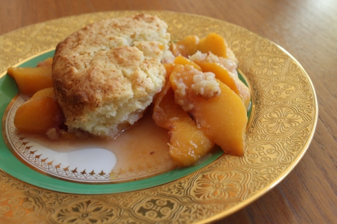Connecticut Peach Cobbler from Baking Family