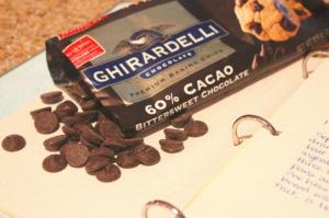 Ghirardelli bittersweet chocolate chips